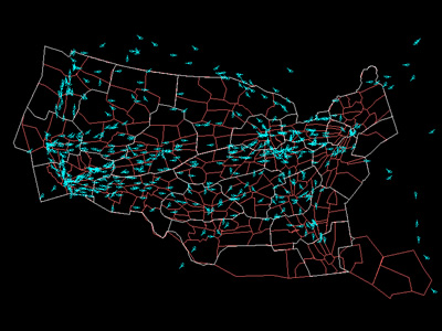 Air Traffic Map Tablesportsdirect A Day In The Life Of Air - Us air traffic map